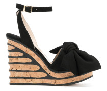 'Iris' Sandalen mit Schleife