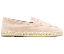 Loafers in Espadrille-Optik