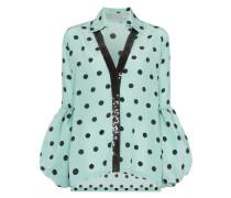 Gepunktete 'Blythe' Bluse