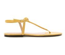 Sandalen mit flachem Absatz