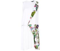 Kleid mit asymmetrischem Print