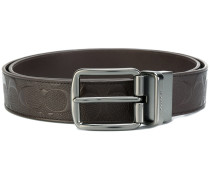 reversible buckled belt