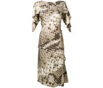 Kleid mit Python-Effekt