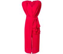 draped asymmetric dress