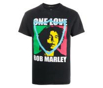T-Shirt mit Bob-Marley-Print