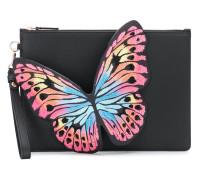 'Flossy' Clutch mit Schmetterling