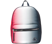 zipped gradient backpack