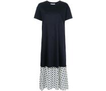 tiered T-shirt dress