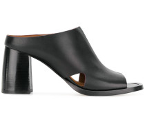 high-heel mules