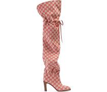 Overknee-Stiefel aus GG