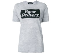"""T-Shirt mit """"Home Delivery""""-Print"""