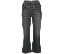 'Micky' Cropped-Jeans
