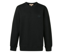 Sweatshirt mit Wappen-Patch