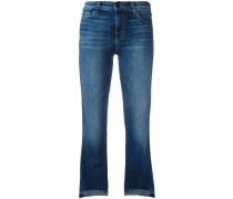 'Step Hem' Cropped-Jeans