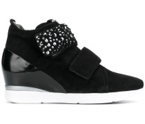 Verzierte Wedge-Sneakers