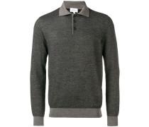 chevron pattern polo shirt