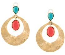 Kreisförmige 'Byzance' Ohrringe