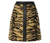 Rock mit Tiger-Print
