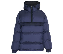 Down-filled Anorak with Detachable Mittens