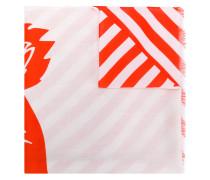 'Tiger' Schal mit Print