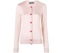rose button cardigan