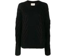 Pullover mit Glitter-Look