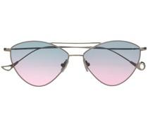 'Ambre' Sonnenbrille mit Farbverlauf