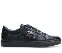 Sneakers in Krokodilleder-Optik