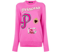 'Princess' Pullover mit Patches