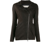 asymmetric longline jacket