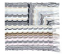 long fringe zigzag scarf
