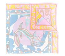 Schal mit Mirei-Print