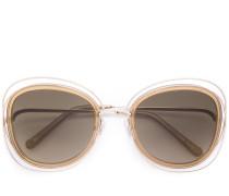 'Poppy' Sonnenbrille mit Oversized-Gläsern