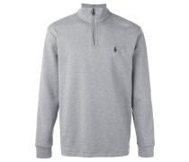 Sweatshirt mit Reißverschlusskragen