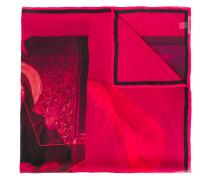 Seidenschal mit Madonna-Print