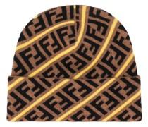 Mütze mit FF-Muster
