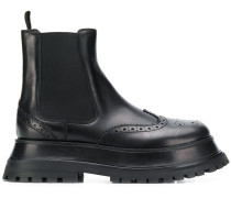 brogue Chelsea boots
