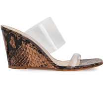 'Olympia' Wedge-Sandalen