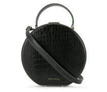 Handtasche mit Kroko-Optik