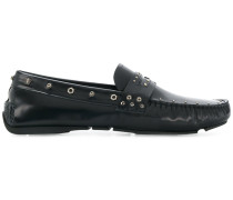 screw studded loafers