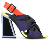 'Kailani' Sandalen in Colour-Block-Optik