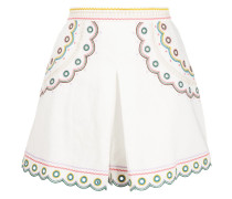 Bestickte 'Peggy' Shorts