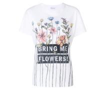 "T-Shirt mit ""Bring Me Flowers""-Print"