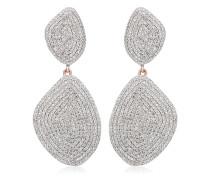 'Nura' Ohrringe mit Diamanten