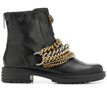Stefan chain-link ankle boots