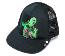 front printed cap