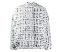 Bomberjacke im Tweed-Look