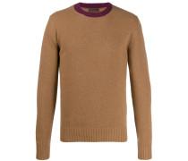 Pullover mit Kontrastkragen