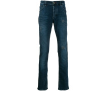 Gerade Jeans im Destroyed-Look
