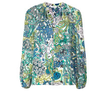 A.L.C. long sleeve printed blouse